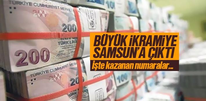 2018 Milli Piyango Sonuçları, Büyük İkramiye Samsun'a Çıktı