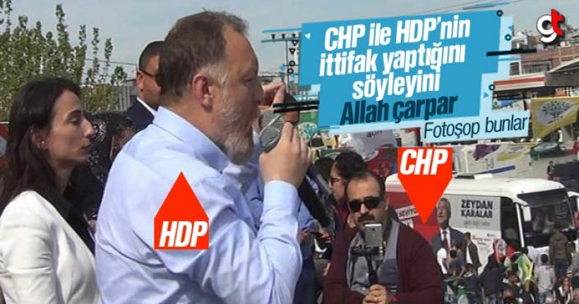 HDP'nin Mitingine, CHP Otobüsü Seçmen Taşıdı