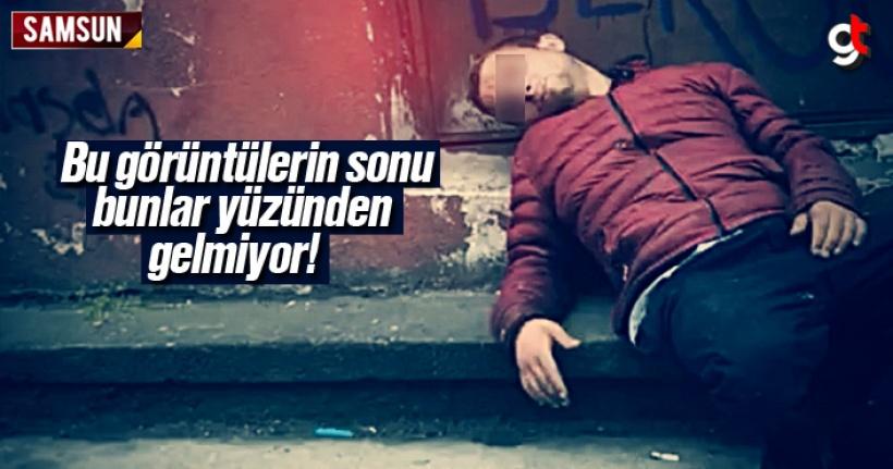 Samsun'da Sentetik Uyuşturucu Satan 2 Torbacı Yakalandı