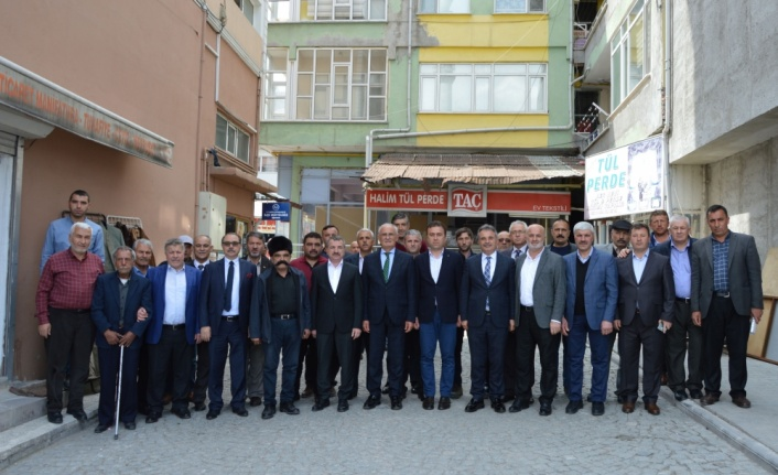 AK Parti Samsun Milletvekili Yusuf Ziya Yılmaz'dan Havza ziyareti