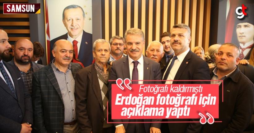 Cemil Deveci'den Cumhurbaşkanı Erdoğan Fotoğrafı Açıklaması