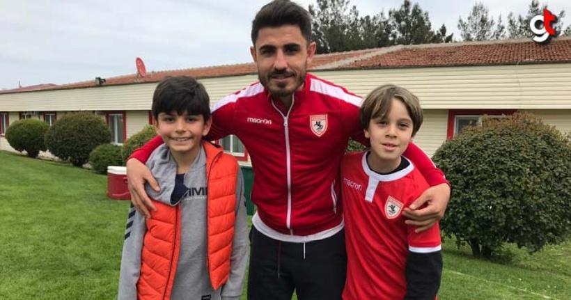 Çocuklar, Samsunsporlu Futbolcular İle Buluştu