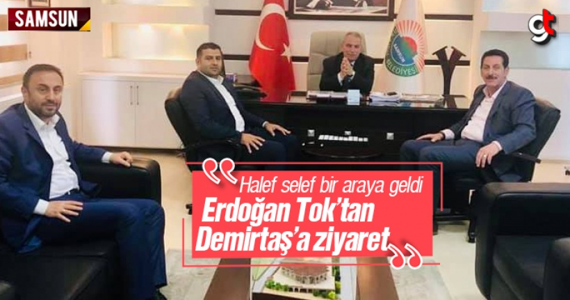 Erdoğan Tok, Necattin Demirtaş'ı Ziyaret Etti