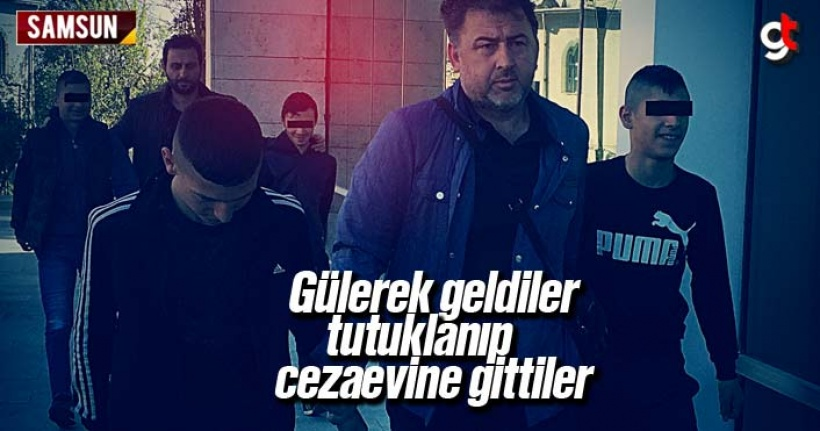 Gülerek Geldiler, Tutuklanı Cezaevine Gittiler