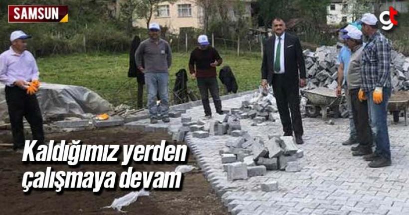 Halil Akgül 'Kaldığımız Yerden Çalışmaya Devam'