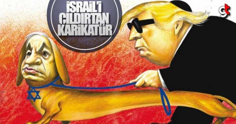 İsrail'den New York Times'ın karikatürüne tepki