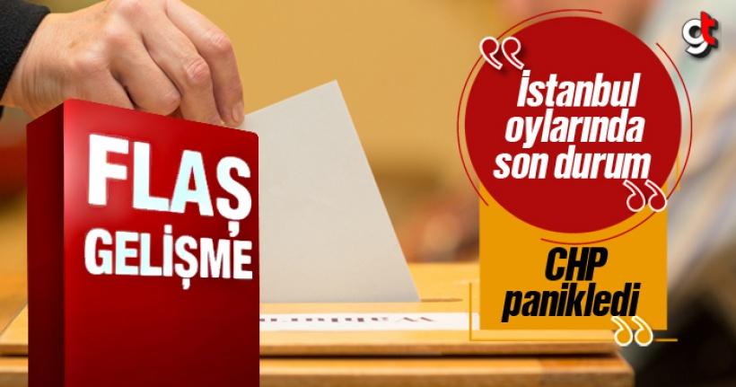 İstanbul'da Yeniden Sayılan Oylarda Son Durum