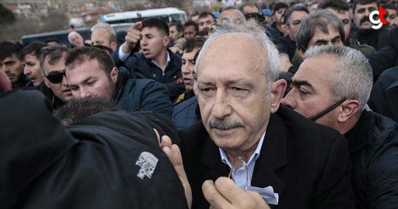 Kılıçdaroğlu'na saldıran kişi Sivrihisar'da yakalandı