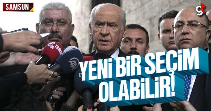 MHP Genel Başkanı Bahçeli: Yeni Bir Seçim Yapılabilir