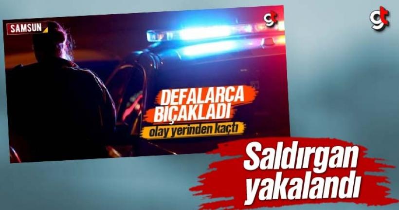 Samsun'da Bıçakla Öldürme Zanlısı Yakalandı