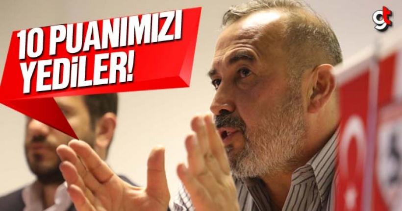 Samsunspor'un 10 Puanını Hakemler Yedi