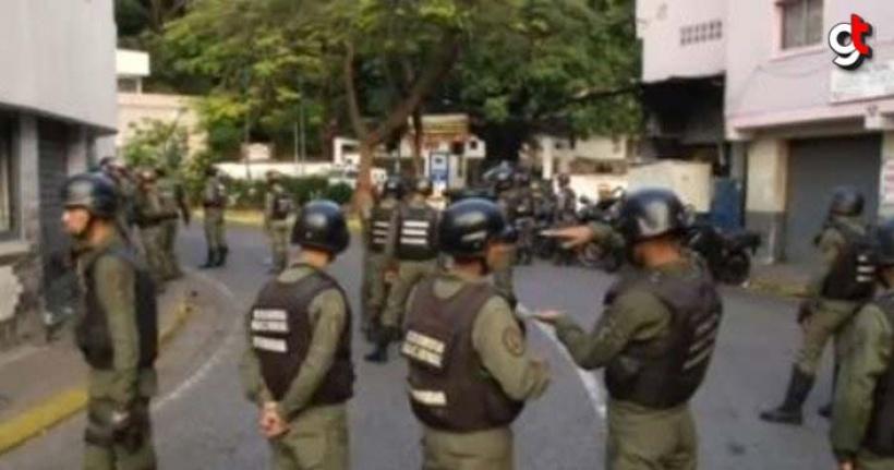 Skandal çağrı sonrası Venezuela'da darbe girişimi!