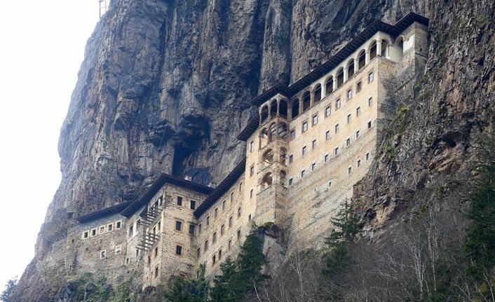 Sümela Manastırı açılış için gün sayıyor