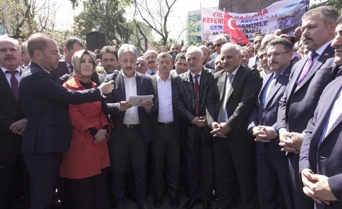 Trabzon'dan Bakan Soylu'ya destek