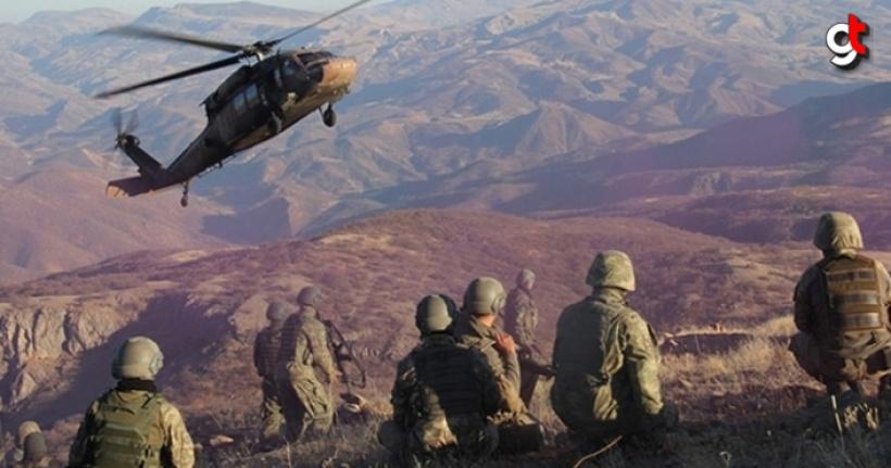 Zap Bölgesine Düzenlenen Operasyonda 14 Terörist Öldürüldü