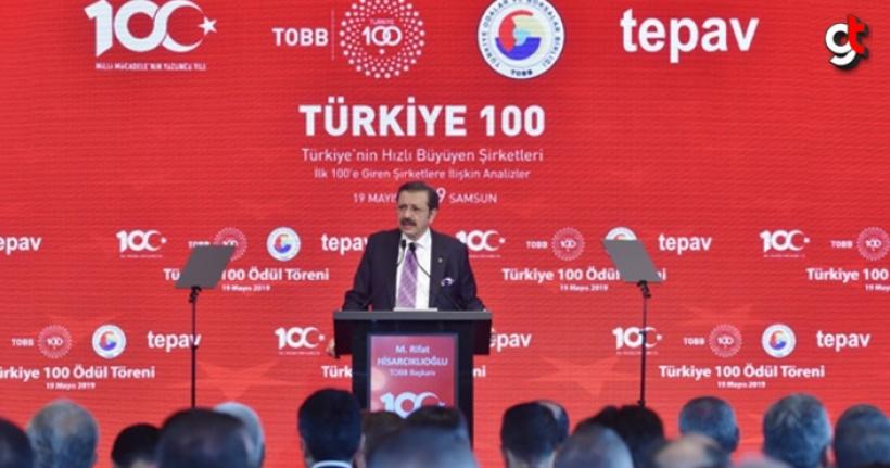 19 Mayıs 2019'da Türkiye'nin en hızlı büyüyen 100 şirketi açıklandı