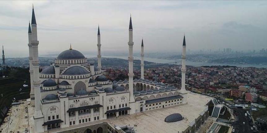 Büyük Çamlıca Camii Bugün Açılıyor