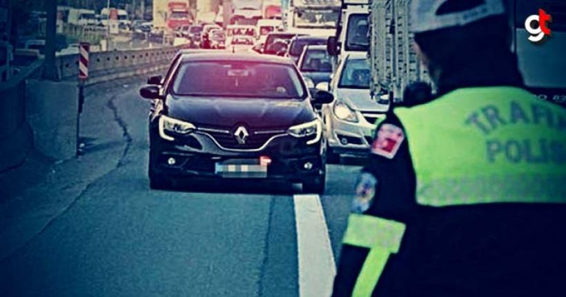 Çakarlı aracı durduran polise mahkemeden cevap