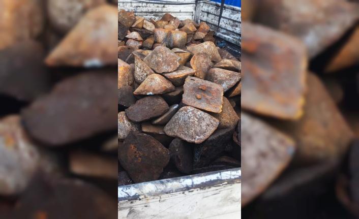 Fabrikadan 4,5 ton demir çalan şüpheli tutuklandı