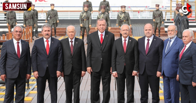 Liderler Samsun'da birleşti