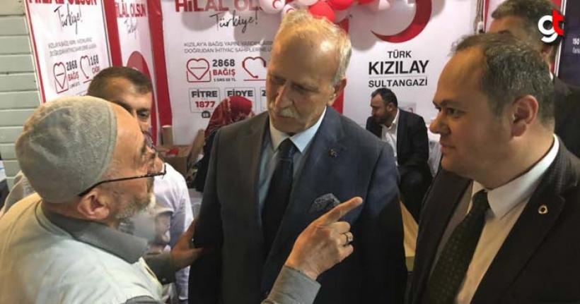MHP Samsun teşkilatı İstanbul için oy istiyor