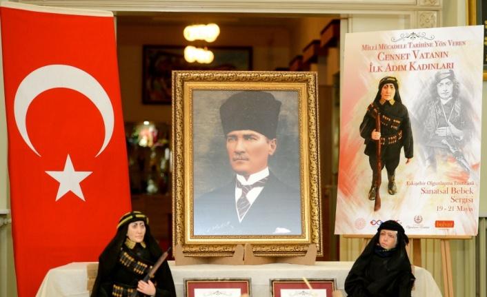 Milli Mücadele'nin kadınları Samsun'da sergilenecek