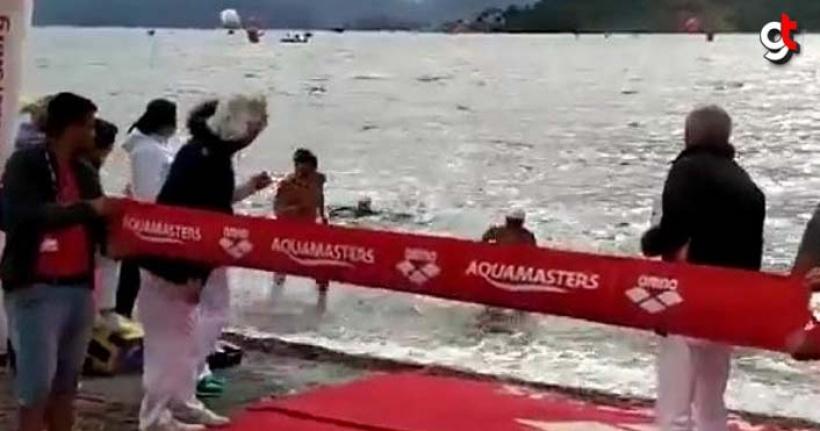Milli yüzücü Tolga Öcal'ın, Ukraynalı Irina kazansın diye çarparak düşürdüğü 13 yaşındaki Seyfi Diker'in gözyaşları