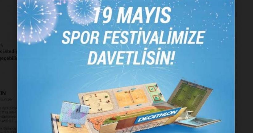 Piazza'da 19 Mayıs Spor Festivali