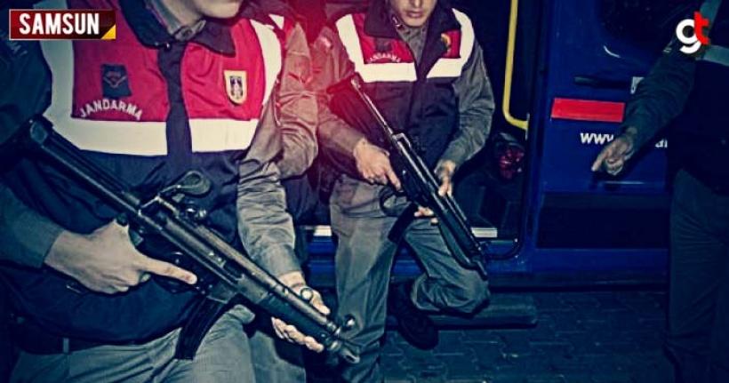 Samsun'da hırsızlık operasyonunda 4 kişi tutuklandı