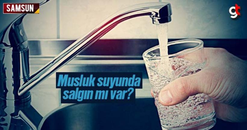 Samsun'da musluk sularında salgın iddiası