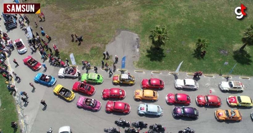 Samsun'da Vosvos festivali düzenlendi