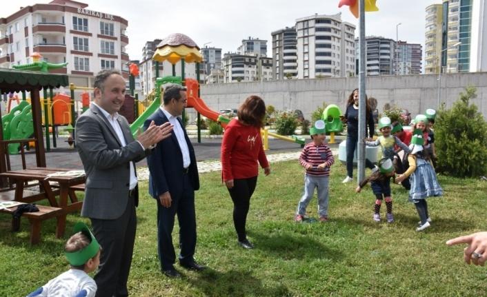 Samsun'da Okul Dışarıda Günü etkinliği
