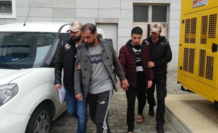 Samsun'da 14 DEAŞ şüphelisi sorguda