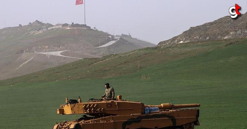 Suriye Zeytin Dalı harekat bölgesinde bir asker şehit oldu