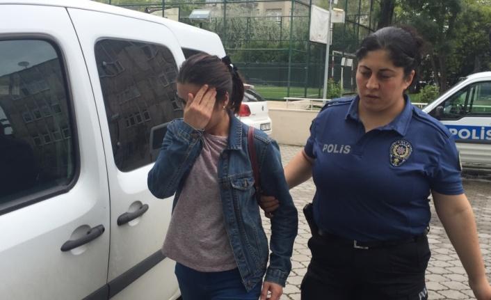 Atakum'da kocasını bıçaklayan kadın gözaltında