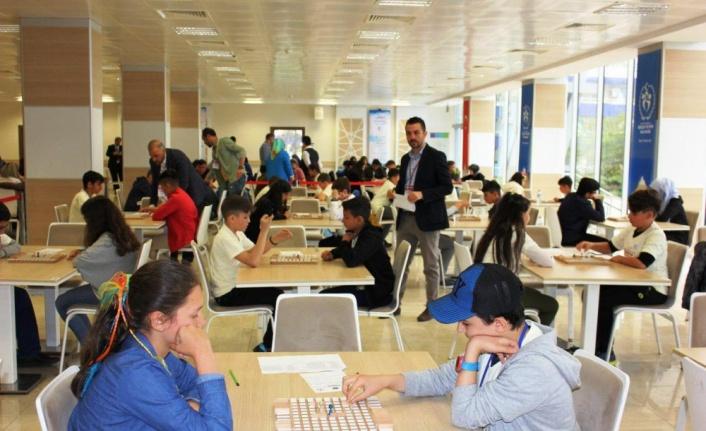 Ulusal Akıl ve Zeka Oyunları Turnuvası Samsun'da başladı