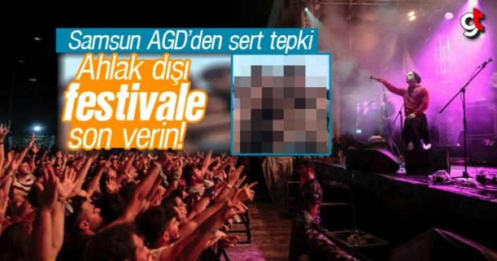 Ahlak dışı Samsun Gençlik Festivali'ne son verin!