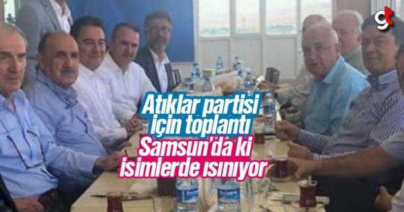 Ali Babacan yeni partisi için toplantı yaptı