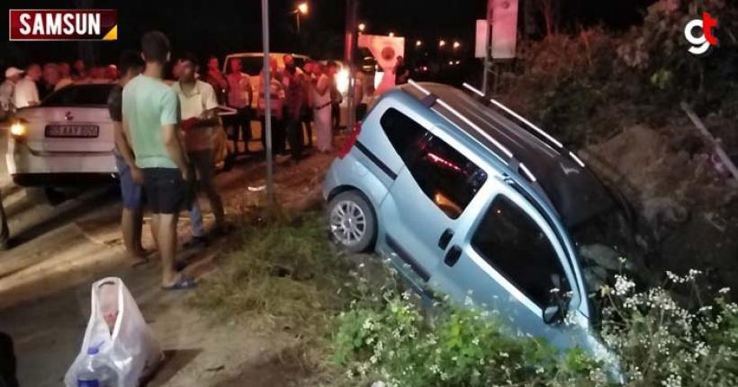 Araçlar çarpıştı 5 kişi yaralandı