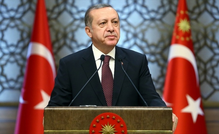 Cumhurbaşkanı Erdoğan: Türkiye tüm dostlarının ve insanlığın umudu olmayı sürdürüyor