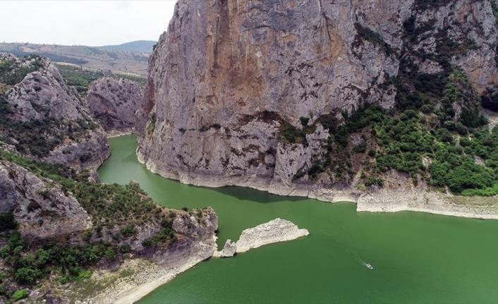 Doğa harikası Samsun Kaplancık Kanyonu ziyaretçilerini bekliyor