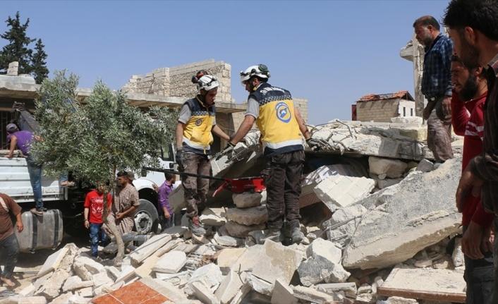 Esed rejimi İdlib ve Hama'da can almaya devam diyor
