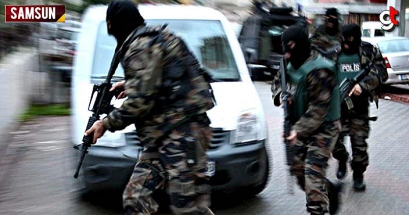 Samsun'da 4 FETÖ üyesi, operasyonla yakalandı