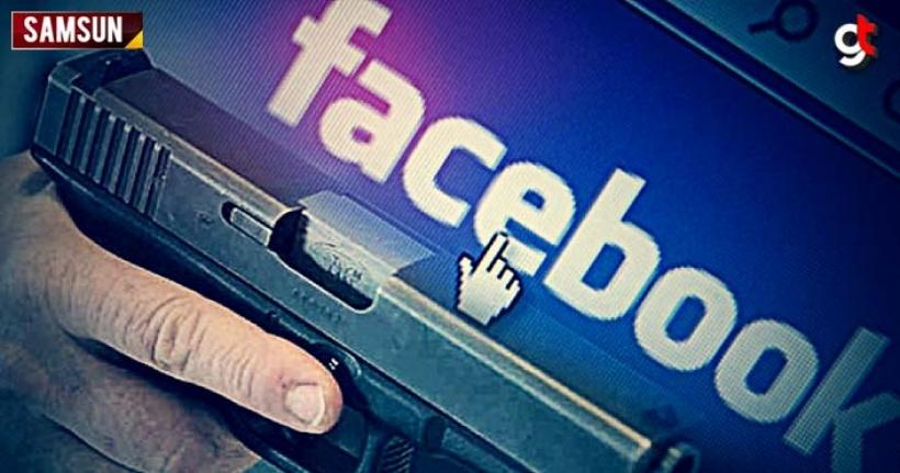 Samsun'da Facebook'ta silah satan kişiler yakalandı