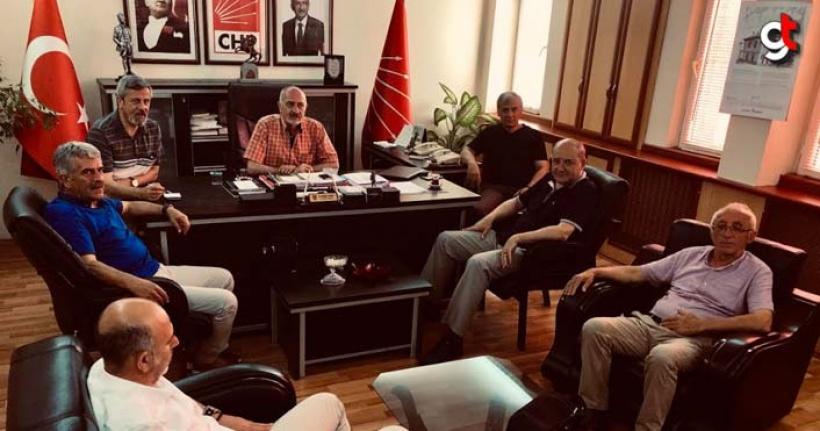 Samsun'da Su ve Ekmek zammı için muhalefet partileri bir araya geldi.