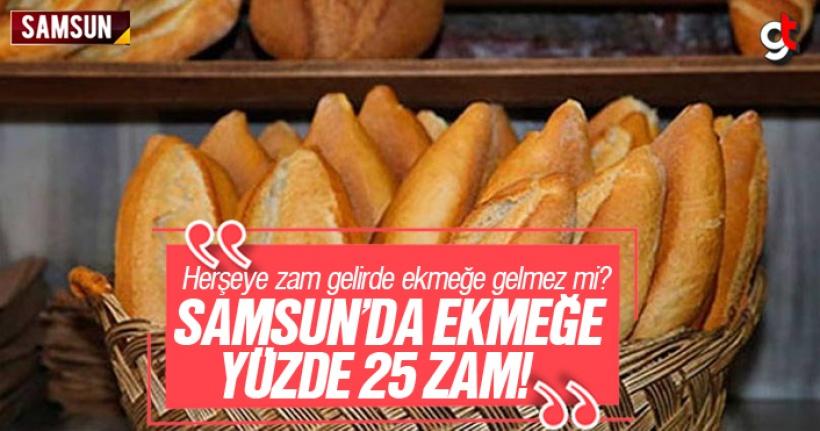 Samsun'da Ekmeğe Yüzde 25 Zam Geldi