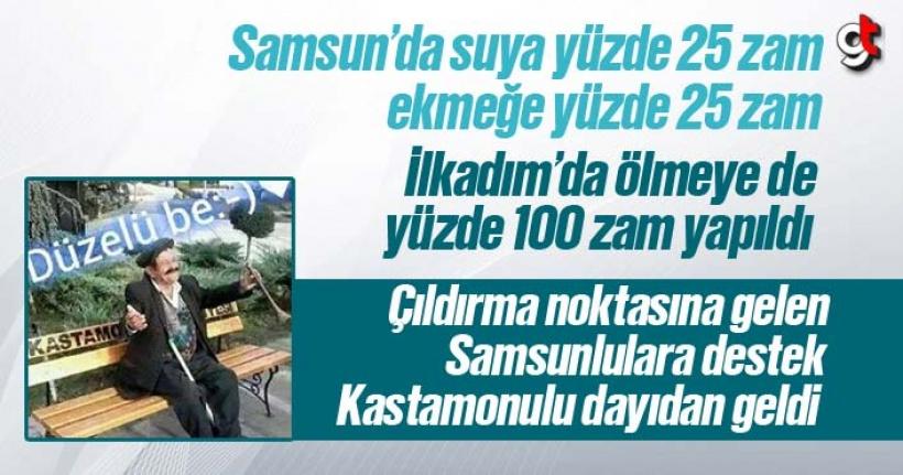 Samsunlu Vatandaşlara 'Düzelü Be' Tesellisi
