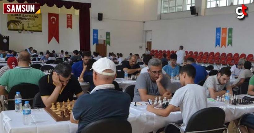 Çarşamba Belediyesi satranç turnuvası düzenledi