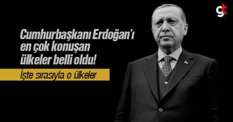 Cumhurbaşkanı Recep Tayyip Erdoğan'ı en çok hangi ülkeler konuşuyor?