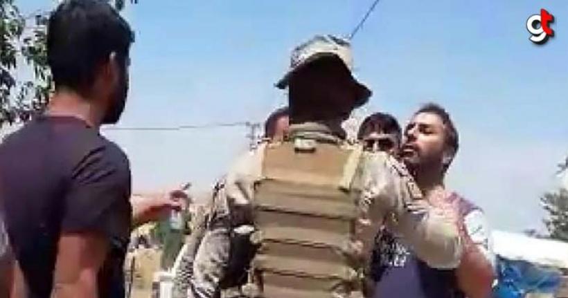 Kaçak elektrik kullananlar şirket elemanlarına saldırdı